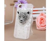 Luipaard Bling! telefoonhoesje HTC One X