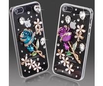Cute & Blue bling telefoon hoesje voor je Samsung Galaxy S3 mini