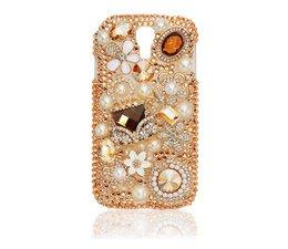 Glitterfantasie bling teledoon hoesje voor Apple iPhone 4/4S