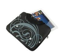 Zwarte fantasy tas voor tablet (max 10,1 inch)