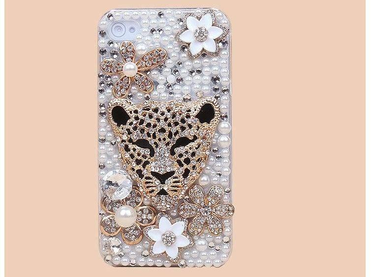 Samsung samsung galaxy note 1 phone case : Home Luipaard u0026 Flower! Bling telefoon hoesje voor je Apple iPhone 5C