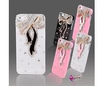 Too cute bling telefoonhoesje HTC One (M7)
