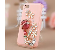 Girlie rose Bling! telefoonhoesje HTC One X
