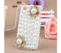 Bling! Bloemetjes telefoonhoesje HTC One mini