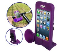 Handsfree speaker voor Apple Iphone 5/5S en 5C, paars