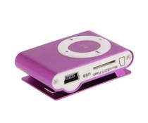 Geinige kleine MP3 speler, paars
