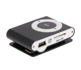 Geinige kleine MP3 speler, zwart