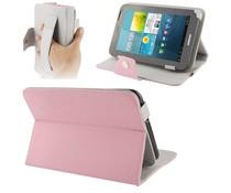 Universele 7 inch tablet hoes, roze