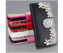 Bloemetjes Bling! Wallet case voor Samsung Galaxy Note 3