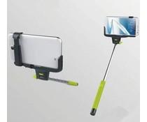 Selfie stok met ingebouwde bluetooth knop