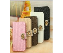 Apple iPhone 4/4S chique walletcase