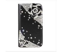 Samsung Galaxy S4 mini Girlie bling (witte walletcase)