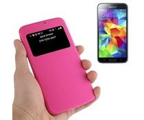 Samsung Galaxy S5 mini telefoonhoesje met kijkvenster