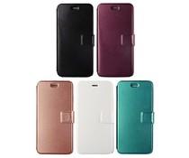 Fancy leren Apple Iphone 6 Plus bookcase met ruimte voor pasjes, diverse metallic kleuren