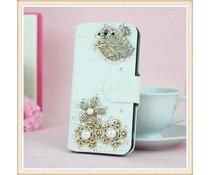 Juicy Bling Crown! Luxe wallet case hoesje voor Apple iPhone 6
