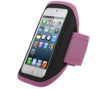 Medium Sportarmband voor je telefoon, zwart