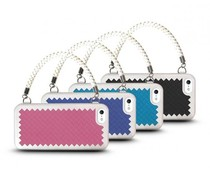 The Joy Factory New York New York iPhone 5 & 5S handtas hoesje met screenprotector, diverse kleuren