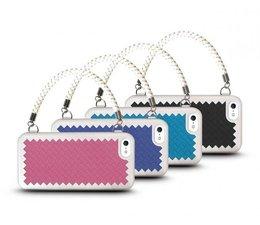 The Joy Factory New York New York iPhone 5 & 5S Handtas hoesje diverse kleuren met gratis screenprotector