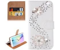Romantiek blingbling bookcase Samsung Galaxy S6 Edge Plus