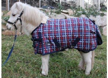 Mini-couverture / Couverture pour poney 95 à 165 cm