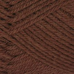 Pure Wool Worsted col. 107 Chestnut