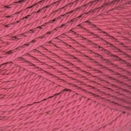 Pure Wool Worsted col. 117 Raspberry