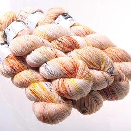 Sock Yarn col. Monarch