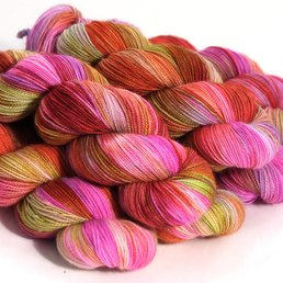 Sock Yarn col. Villain