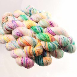 Sock Yarn col. Heyday