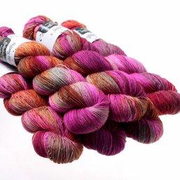Sock Yarn col. Pheasant
