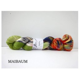 Fine Merino Socks Fb. Maibaum