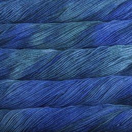 Worsted col. 132 Emerald Blue