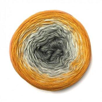 Farbspiele 5-times unicum col. Grau liebt Mandarine