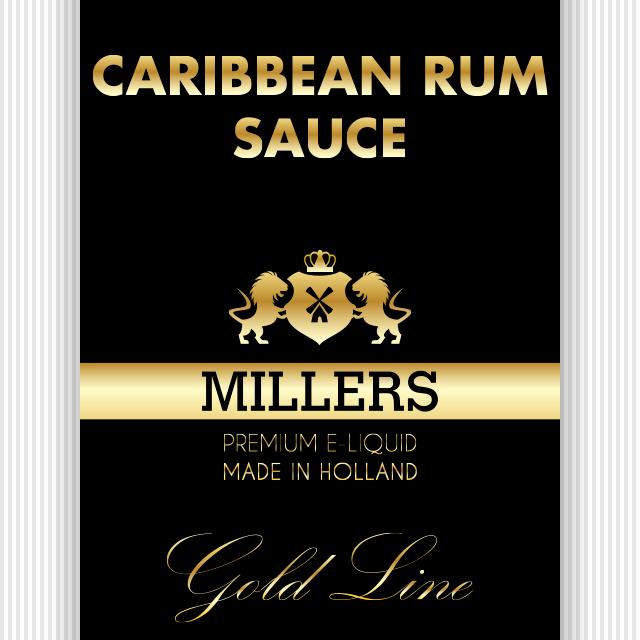 Goldline Millers liquid Caribbean Rum Sauce