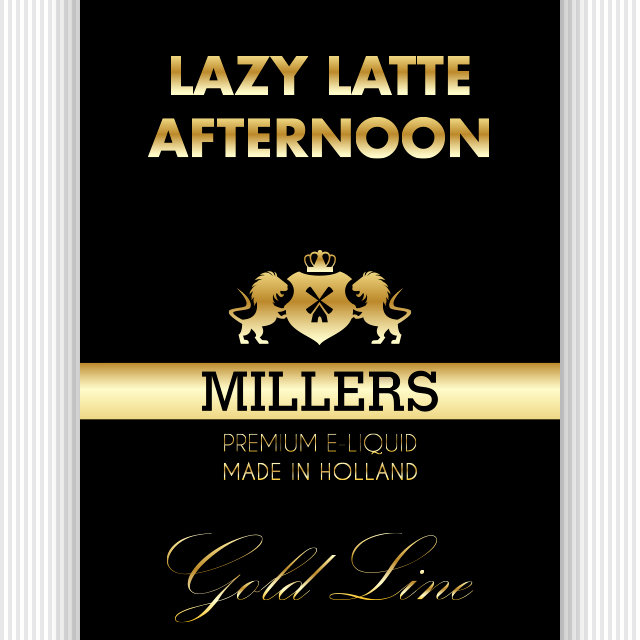 Millers Goldline liquid lazy Latte Afternoon