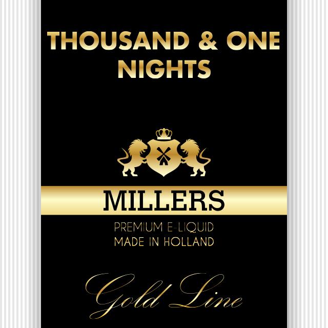 Goldline Millers liquid Thousand & One Nights