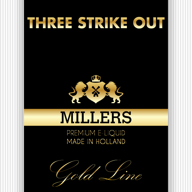 Millers Goldline Three Strikes Out