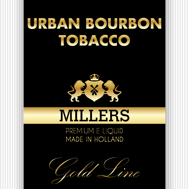 Goldline Millers liquid Urban Bourbon Tobacco