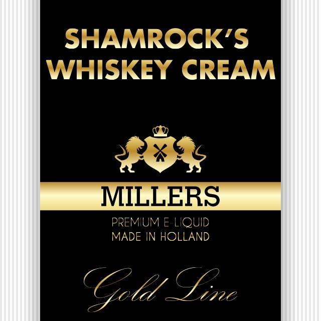 Goldline millers liquid Shamrock's Whiskey Cream