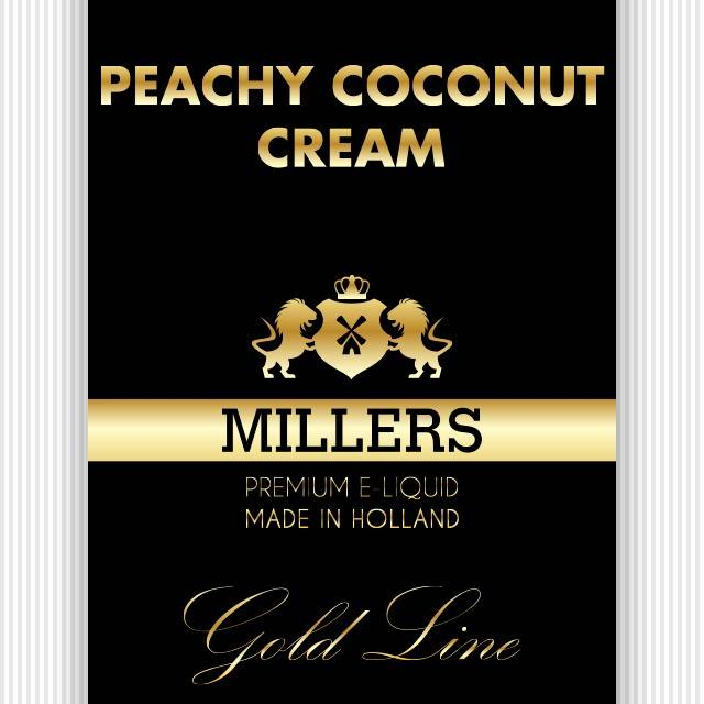 Goldline Millers liquid Peachy Coconut Cream