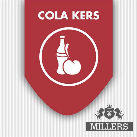 Cola kersen liquid Millers juice silverline