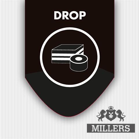 Drop liquid Millers juice silverline