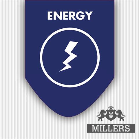 Millers juice liquid Silverline energy