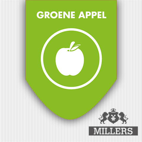 Groene appel liquid millers juice Silverline
