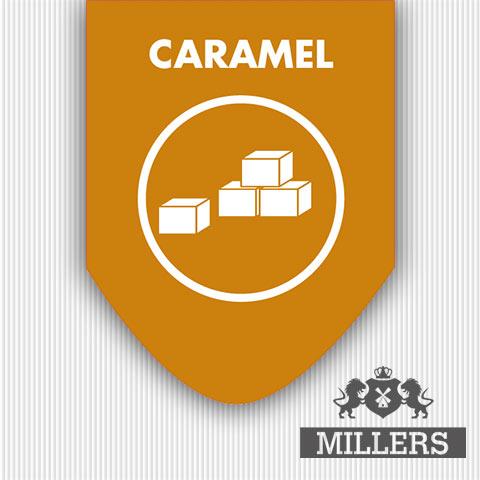 Karamel liquid sliverline Millers juice