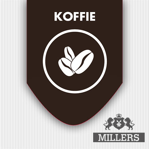 Koffie liquid Millers juice Silverline