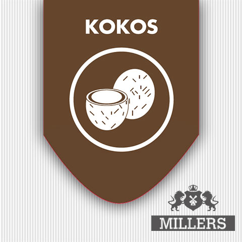 Kokos Millers juice liquid silverline