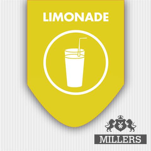 Limonade Millers juice silverline liquid