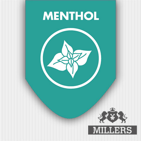Millers juice silverline menthol liquid