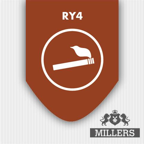 Ry4 liquid millers juice silverline